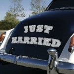 just-married-car-magnets